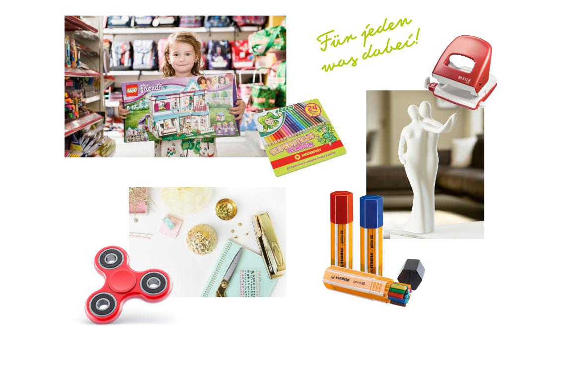 Papier/Spielwaren/Geschenke