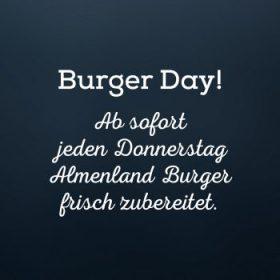 Almenland Burger!